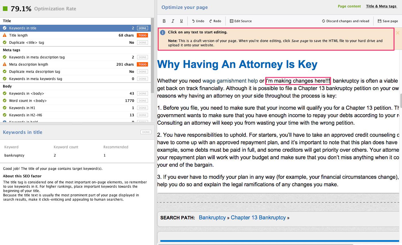 Website Auditor - 12