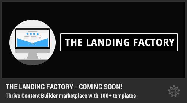 The Landing Factory Project – Coming Soon!