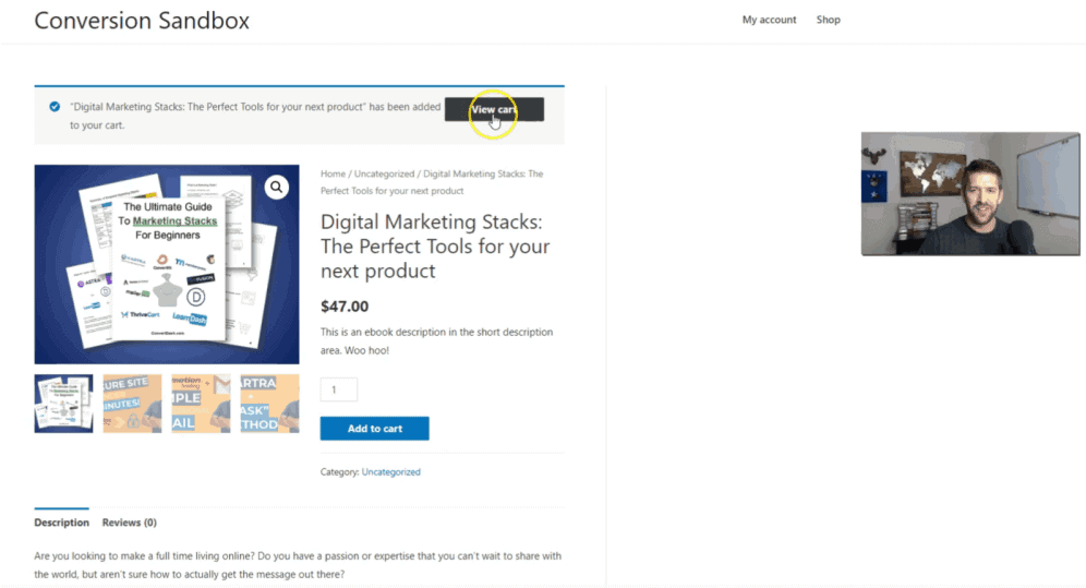 E-Commerce purchase product