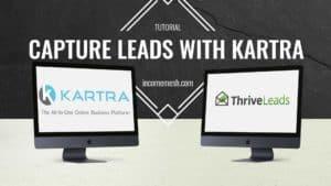 Kartra Wordpress leads