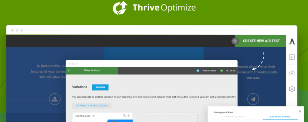 Thrive Optimize Conversions