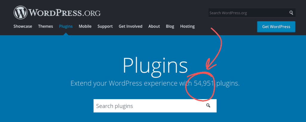 Wordpress vs Wix - Number of Plugins Available
