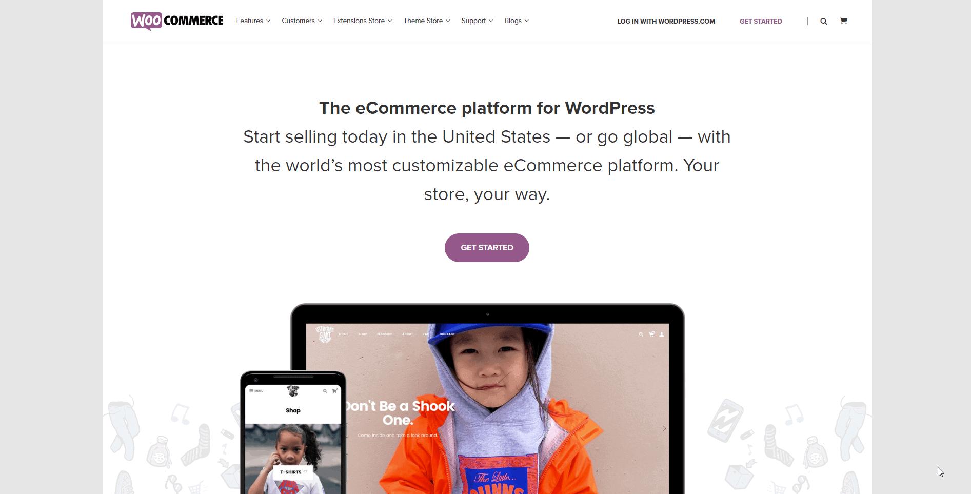 woocommerce best online shopping cart 2020